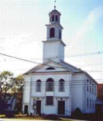 Picture of front of church